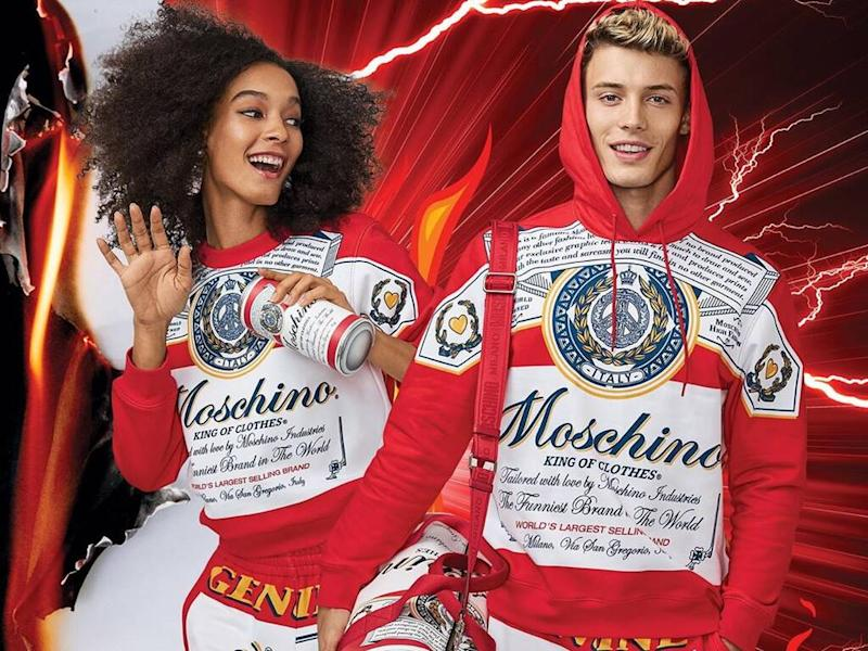 Moschino teams up with Budweiser on capsule collection