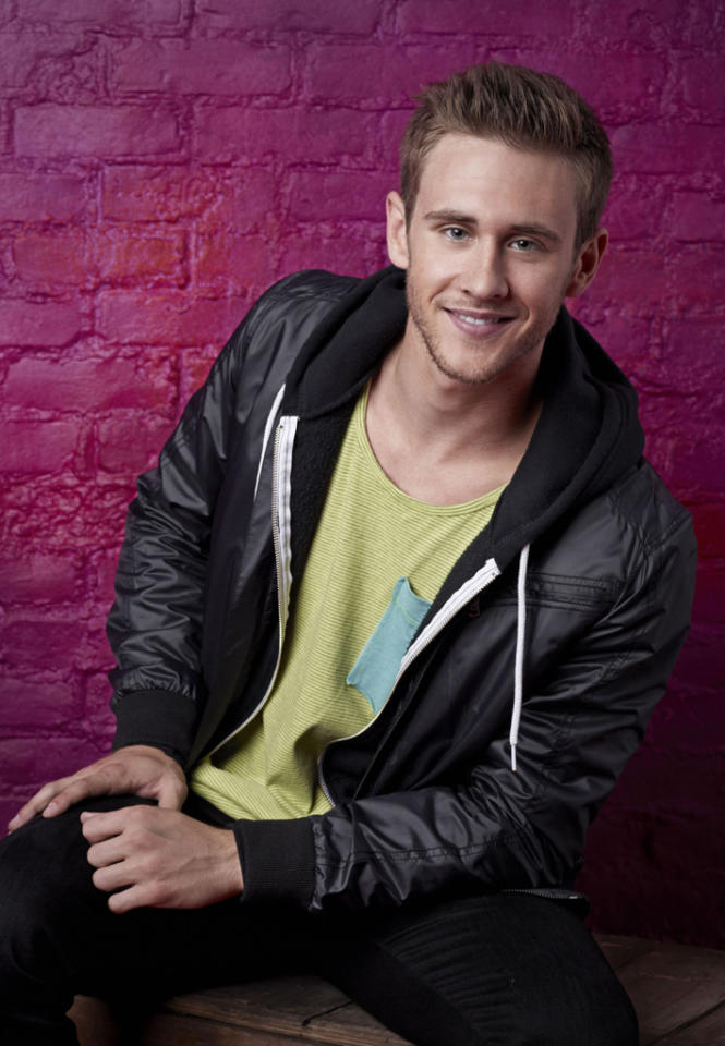 """Matthew Kazmierczak (21), is a Contemporary dancer from Peoria, AZ, on """"So You Think You Can Dance."""""""