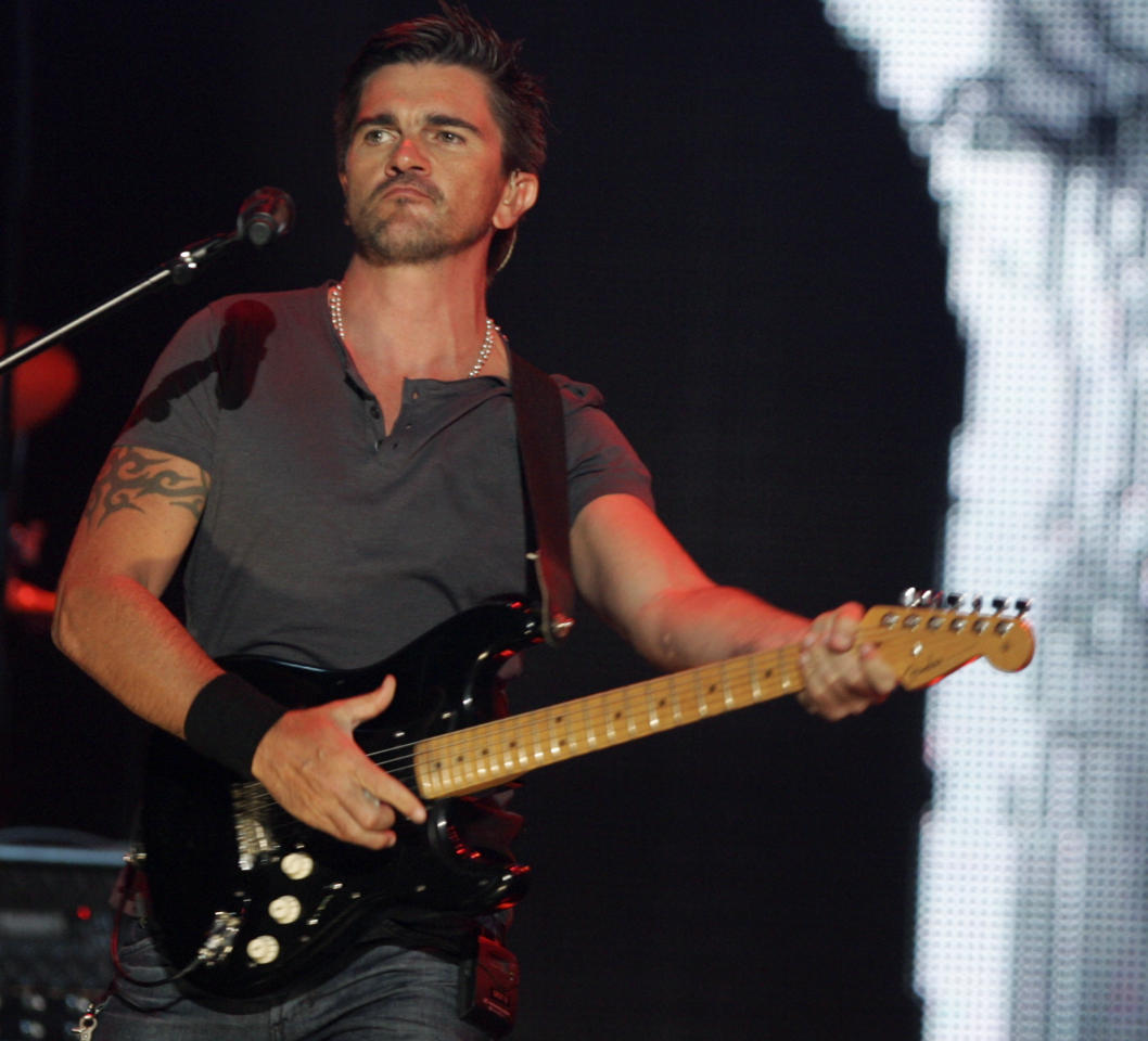 Colombian singer Juanes performs during the Latin Billboard Awards, Thursday, April 28, 2011 in Coral Gables, Fla.