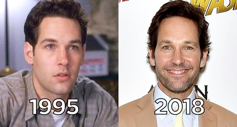 Why actor Paul Rudd doesn't seem to age