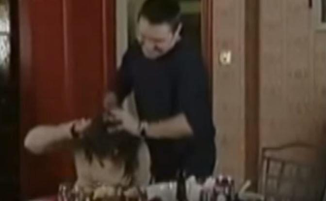 In one of the soap's more troubling storylines, Little Mo found herself on the receiving end of physical abuse from her husband, Trevor. When she arrived late for her Christmas dinner, it unleashed one of his violent outbursts, as he was seen grabbing her by her hair and pushing her face into her food.