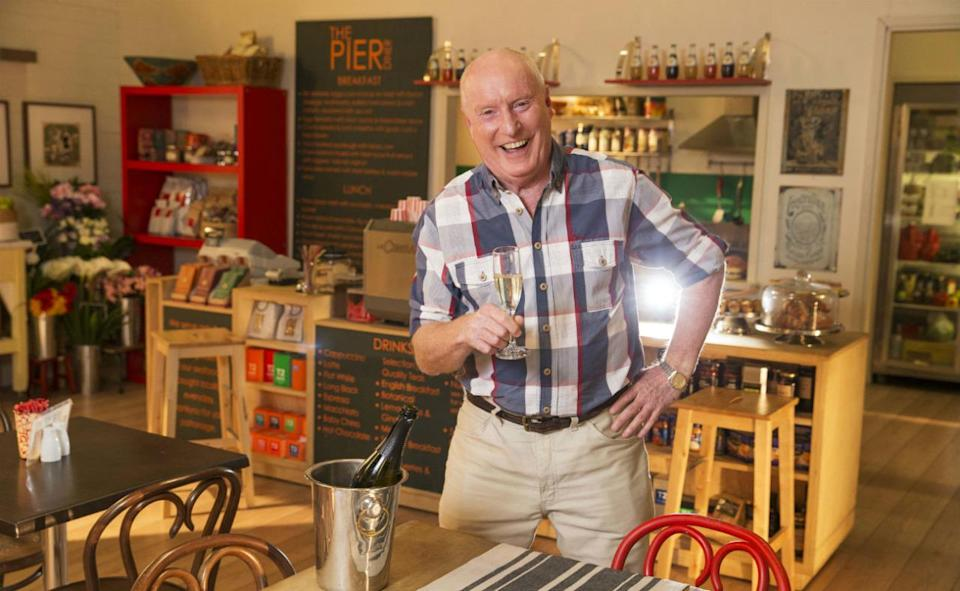 <p>Stone the flamin' crows, Ray 'Alf Stewart' Meagher is worth a few bucks. He's played the role of the irascible Home And Away denizen since 1988, earning him the Guinness World Record for the longest serving cast-member in an Australian soap. It was reported in 2009 that he was earning $500,000 (nearly £300,000) a year. It's likely more today.</p>