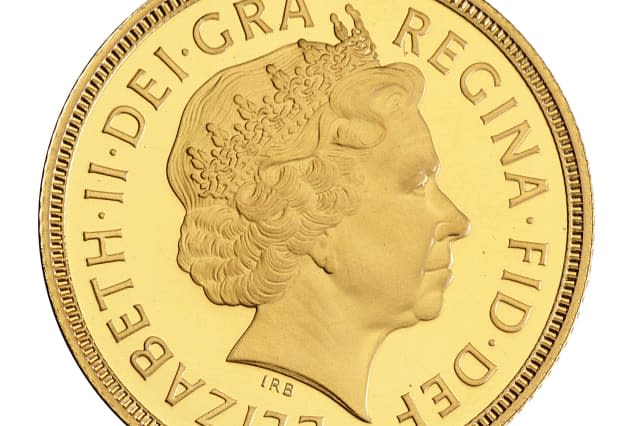 The Rank-Broadley Portrait on a 1998 Sovereign