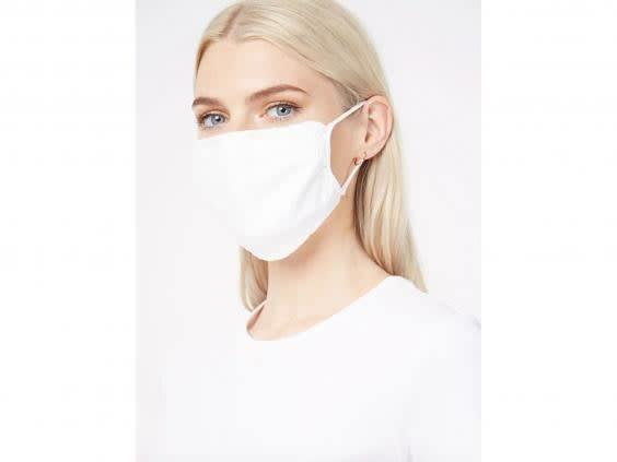 Soft and simply designed, Asda's face mask comes in a pack of two (Asda)