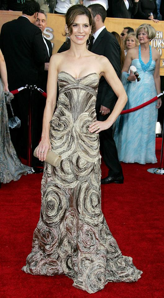 """<a href=""""/perrey-reeves/contributor/859247"""">Perrey Reeves</a> at the <a href=""""/2007-screen-actors-guild-awards/show/40550"""">13th Annual Screen Actors Guild Awards</a>."""