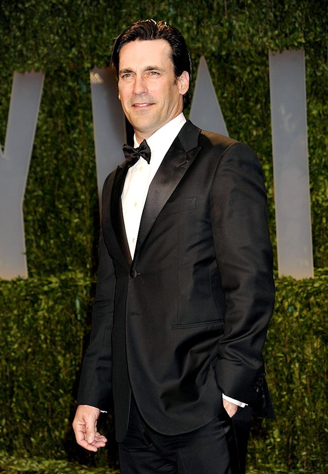 "Although Jon Hamm has been in the business for a while, his portrayal of Don Draper on ""Mad Men"" not only earned him a Golden Globe Award, but turned him into an overnight sex symbol. Frank Micelotta/<a href=""http://www.gettyimages.com/"" target=""new"">GettyImages.com</a> - February 22, 2009"
