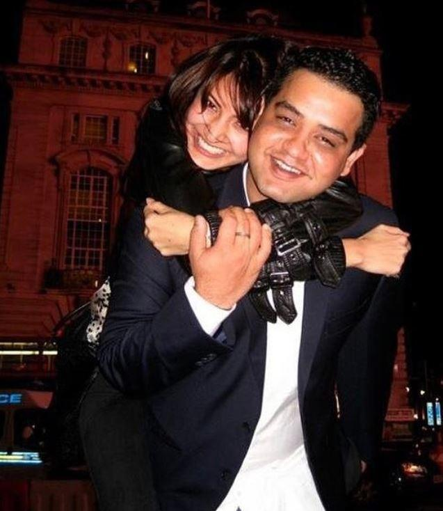 Anushka Sharma and Karnesh Sharma