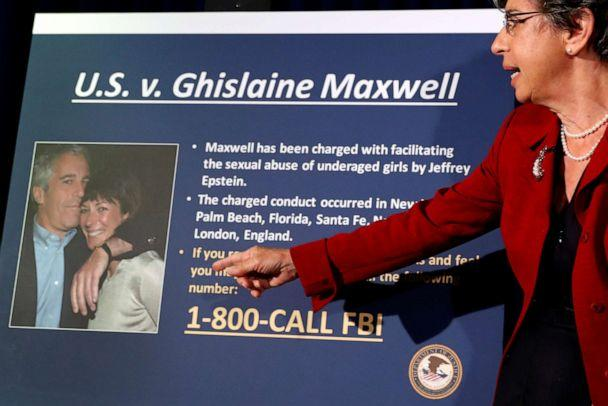 PHOTO: Audrey Strauss, acting United States Attorney for the Southern District of New York speaks at a news conference announcing charges against Ghislaine Maxwell for her role in the abuse of minor girls by Jeffrey Epstein in New York City, July 2, 2020. (Lucas Jackson/Reuters)