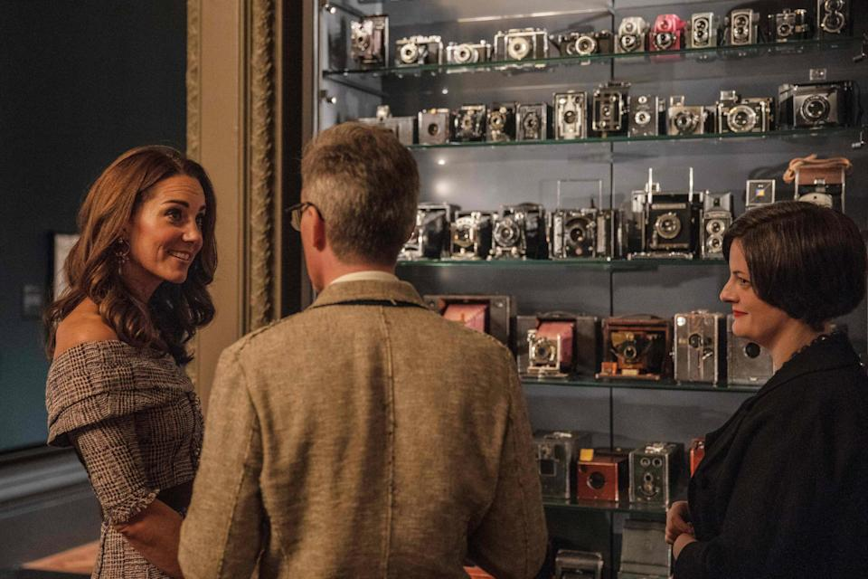 Kate Middleton at the V&A Photography Centre (Getty Images)