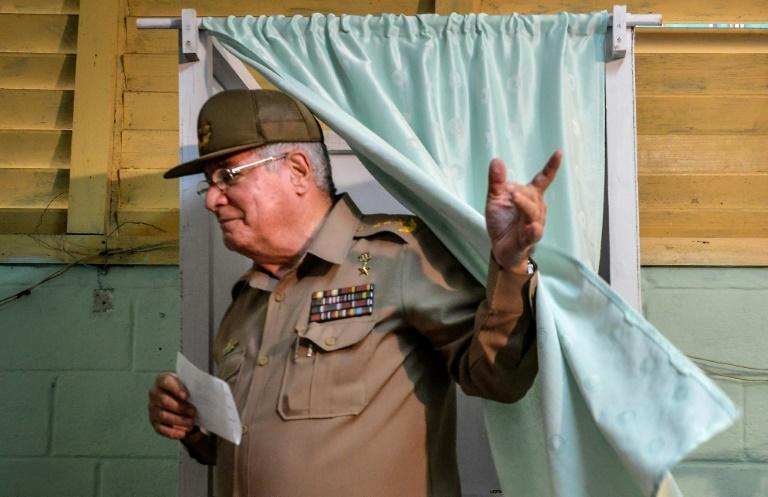 The United States sanctioned Cuban Defense Minister Alvaro Lopez Miera in relation to a crackdown on recent protests on the island