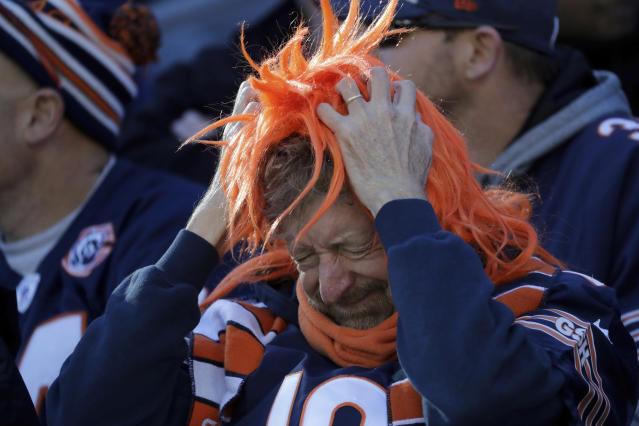 Bears fans can't be thrilled with their offseason so far. (AP Photo/Nam Y. Huh)