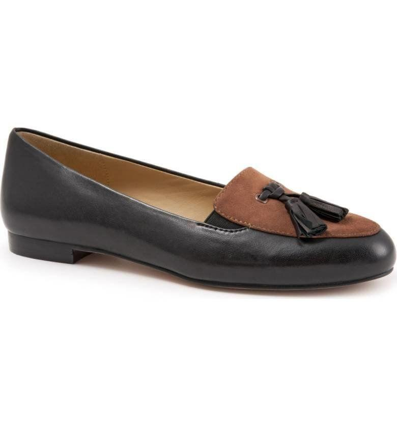 "<a href=""http://shop.nordstrom.com/s/trotters-caroline-tassel-loafer-women/4377550?origin=category-personalizedsort&fashioncolor=BLACK%2F%20TOBACCO%20LEATHER"" target=""_blank"">Shop them here</a>."