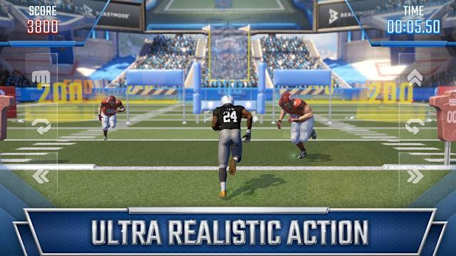 Beast Mode is coming to your smartphone. Get your Skittles ready.