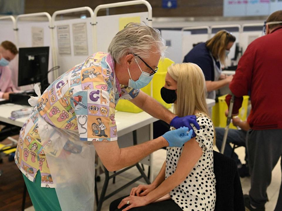 Experts said the results point to inoculations strengthening herd immunity (AFP)