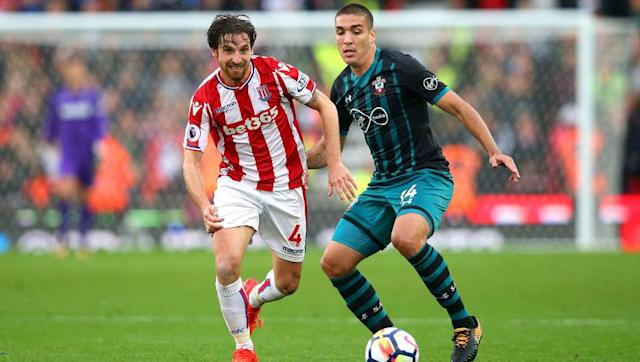 <p>The Welsh Pirlo may not live up to his nickname in terms of trophies or legendary status, but he certainly makes up for it with his work-rate on the pitch.</p> <br><p>The midfielder has been a staple name for Mark Hughes' team sheet so far this season, most probably due to the incredible work rate and ball retention the 27-year-old brings to the team. His Stoke side have leaked 11 goals this season and sit 13th in the table, however the Welshman surely can't be the blame for their less than impressive start.</p>