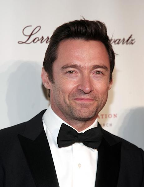 Actor Hugh Jackman attends Angel Ball 2013 on Tuesday, Oct. 29, 2013, in New York. (Photo by Andy Kropa/Invision/AP)