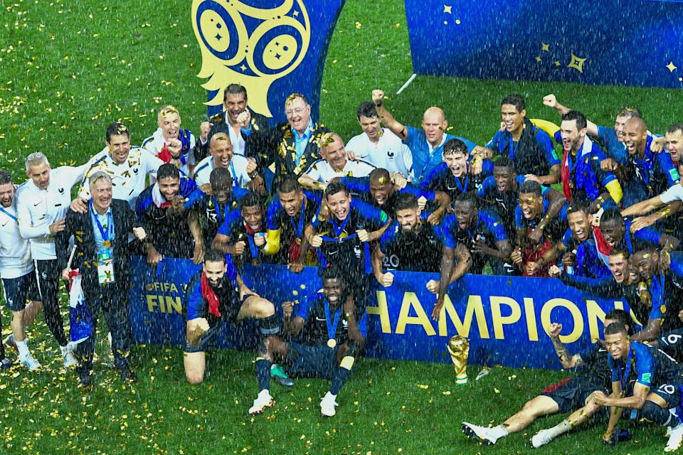 World champions France are the favourites this summer (AFP via Getty Images)