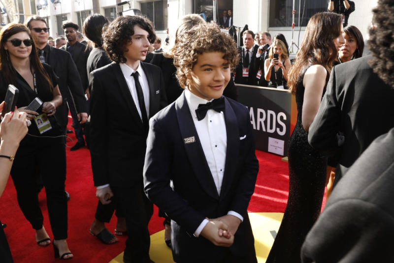"The ""Stranger Things"" kids are at the Golden Globes, but someone is missing"