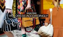 <p>When Céline, Prada, Miu Miu, and Gucci all produce bags of a similar shape, you better pay attention! Call it the pleated or accordion style and get ready to expand (or contract) your belongings! </p>