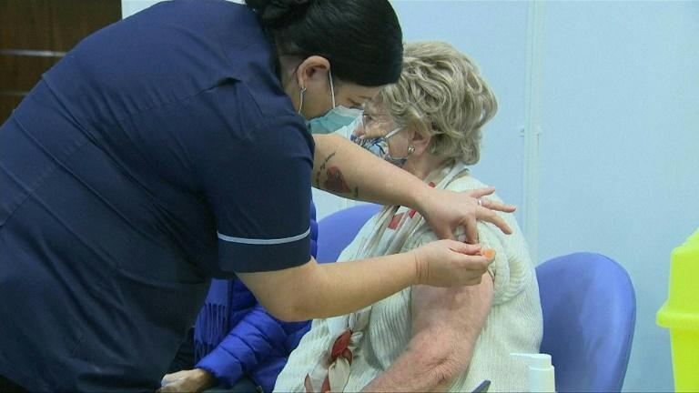 Mass vaccination centres open across the UK