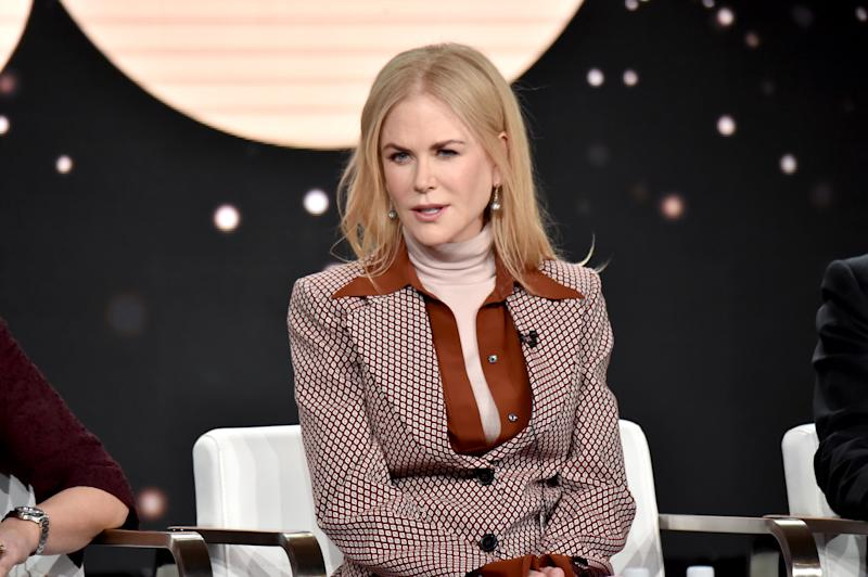 Nicole Kidman of 'The Undoing' appears onstage during the HBO segment of the 2020 Winter Television Critics Association Press Tour at The Langham Huntington, Pasadena on January 15, 2020