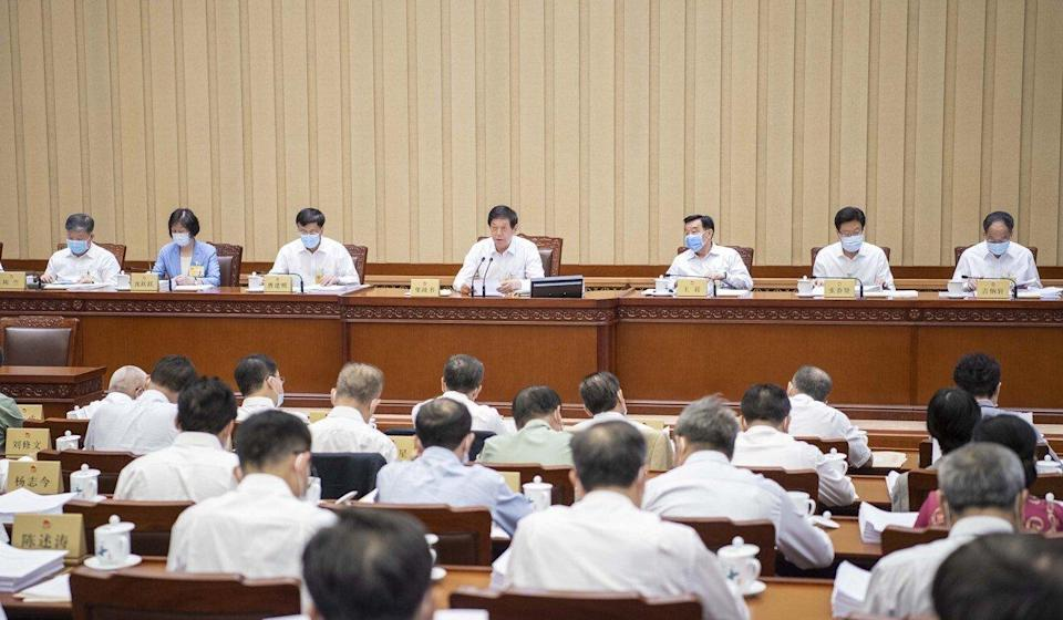 The National People's Congress Standing Committee is holding a four-day meeting in Beijing. Photo: Xinhua