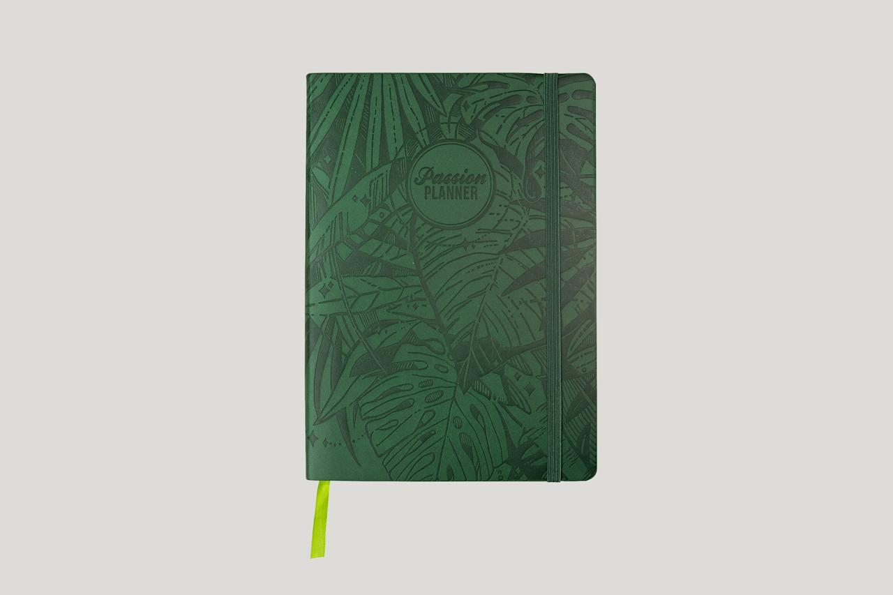 """<p><strong>passion</strong></p><p>passionplanner.com</p><p><strong>$35.00</strong></p><p><a href=""""https://passionplanner.com/2020-dated-forest-green/"""" target=""""_blank"""">Shop Now</a></p><p>Kick 2020 into high gear with this unique take on a traditional planner, which comes dated or undated. It has all the traditional planner features, in addition to sections for goal-setting, monthly reflection pages, and a passion roadmap for the year. </p>"""