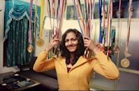 <p>The freestyle wrestler brought home India's first Commonwealth Games gold medal in wrestling and thanks to her bio-pic, the story of her struggle and success is known to everyone now. The 30-year-old already has four gold medals to her name, along with three bronzes and one silver. In November 2016, Phogat married fellow wrestler Pawan Kumar. </p>