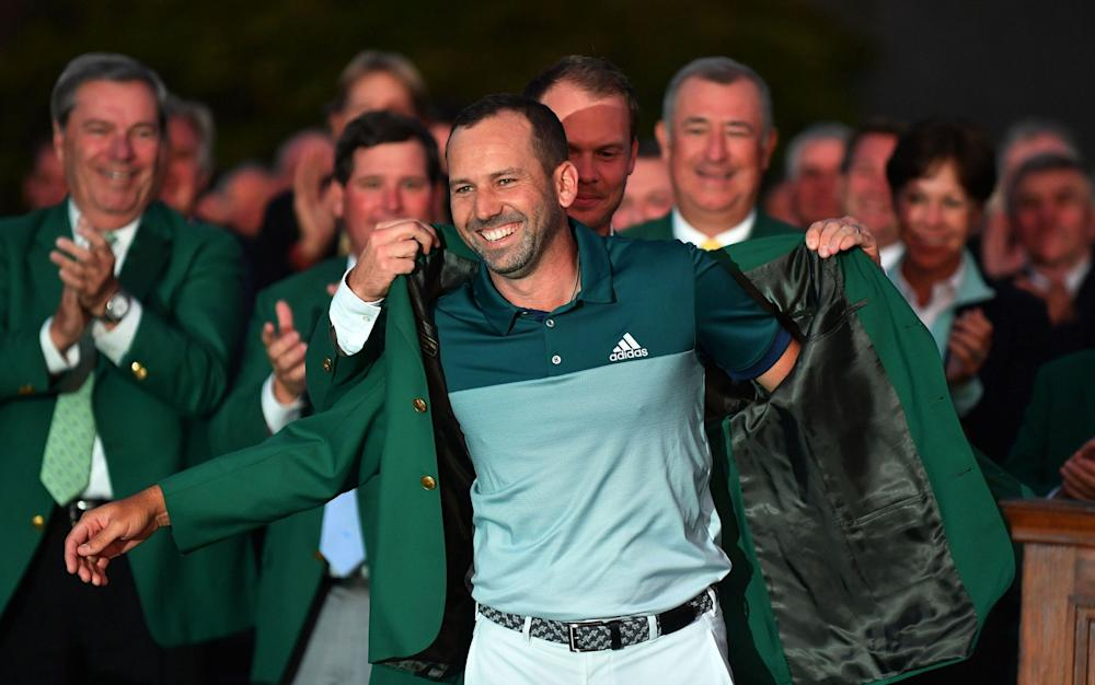 Sergio Garcia - Credit: REX FEATURES