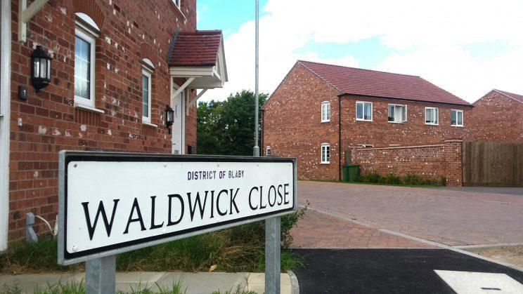 <em>Neighbour – the attack took place on Waldwick Close in Leicester (Picture: SWNS)</em>