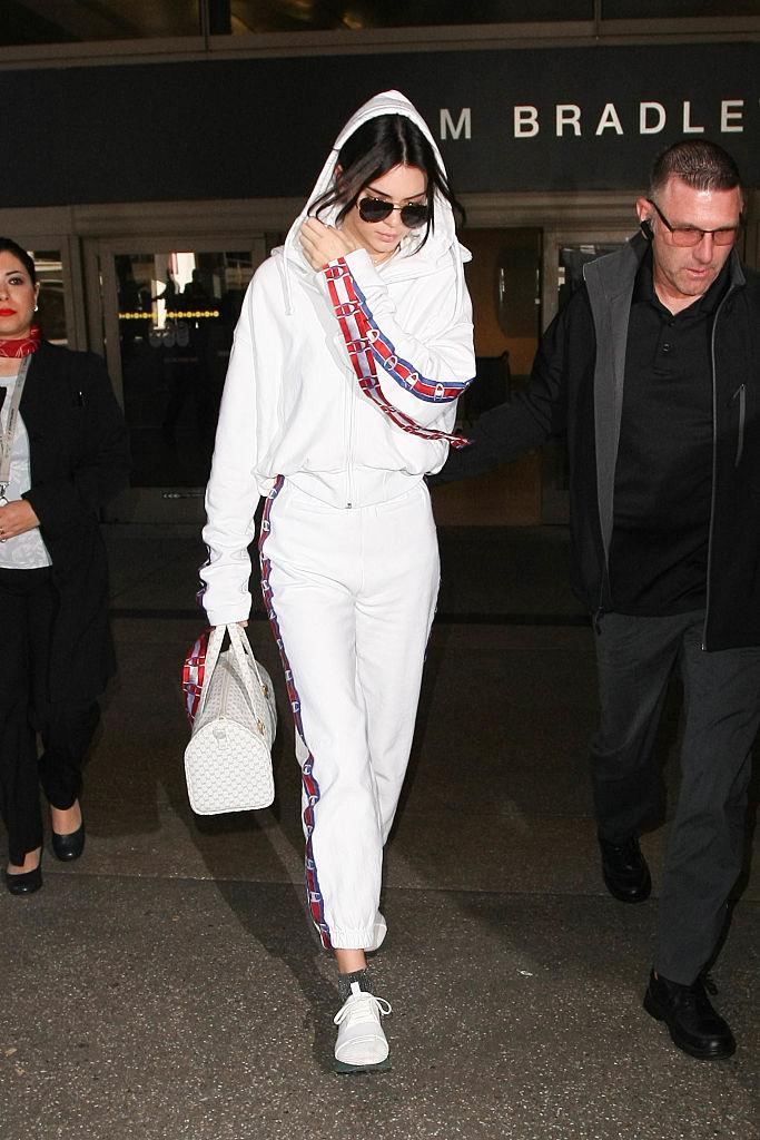 You Have To See The 1 750 Sweatsuit Kendall Jenner Wore To The Airport