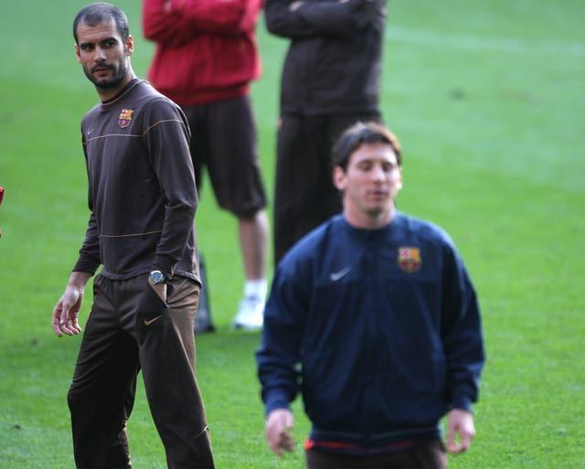 Lionel Messi flourished under the guidance of Pep Guardiola