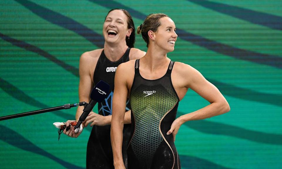 Cate Campbell and Emma McKeon