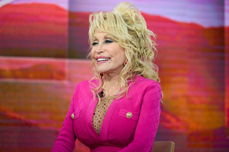 TODAY -- Pictured: Dolly Parton on Wednesday, November 20, 2019 -- (Photo by: Nathan Congleton/NBC/NBCU Photo Bank via Getty Images)