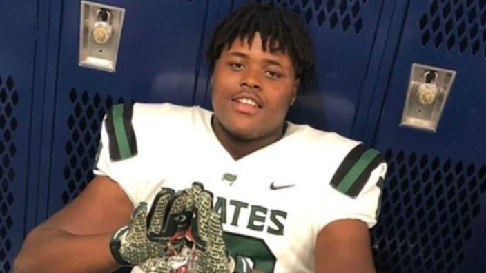 Champion Prep Academy football player JauMarcus McFarland, 18, was killed Wednesday in an elevator crash in a student housing building. (GoFundMe.com)