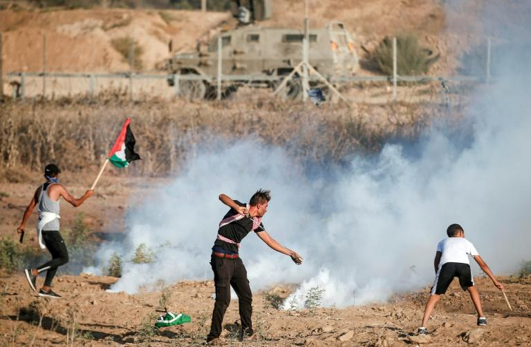 Palestinians have been holding regular mass protests along Gaza's border since March 2018