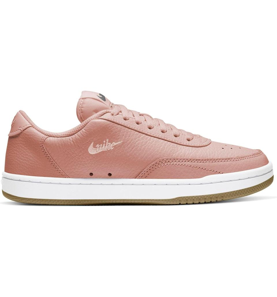 <p>You can't go wrong with these 80's inspired <span>Nike Court Vintage Premium Sneaker</span> ($50, originally $70). Pair it with a cute white tee and jeans and let these stunners do the talking. </p>
