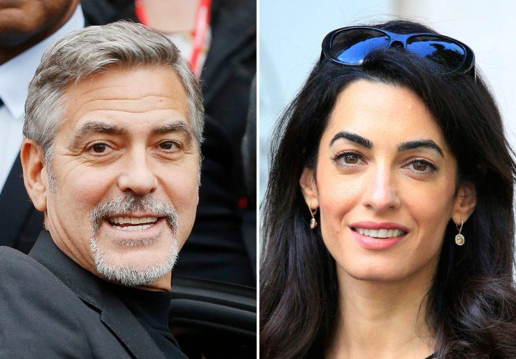 George and Amal Clooney's twins have arrived [Photo: PA Images]