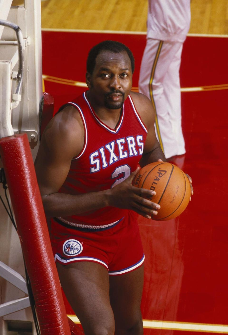 <p>Moses Malone was the first modern-era player to make the jump straight from high school to the ABA, where he was drafted by the Utah Stars in 1974. Before making that decision Malone had signed a letter of intent to attend Maryland. </p>