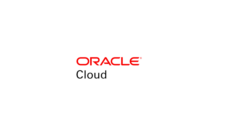 The Oracle cloud logo.
