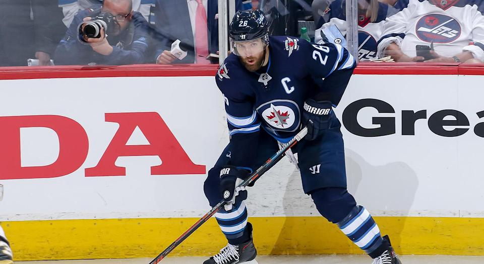 Blake Wheeler will be difficult for the Jets to retain. (Jonathan Kozub/NHLI via Getty Images)