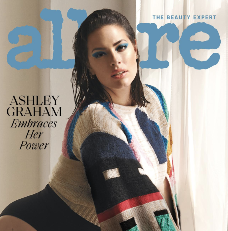Ashley Graham covers the July issue of Allure. (Photo: Vanina Sorrenti/Allure)