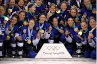 """<p>When it comes to <a href=""""https://www.bustle.com/articles/176742-can-olympic-athletes-get-paid-for-endorsements-the-rio-olympics-rules-can-be-tricky-to-navigate"""" rel=""""nofollow noopener"""" target=""""_blank"""" data-ylk=""""slk:endorsements"""" class=""""link rapid-noclick-resp"""">endorsements</a>, athletes can have them and get paid for them. However, during the games, the athlete can't mention them, and the company can't promote the athlete either. </p>"""