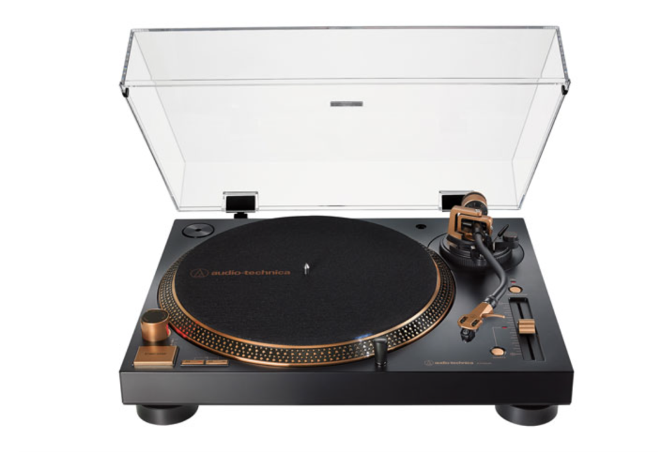 Audio Technica AT-LP120XUSB-BZ Direct Drive USB Turntable - Only at Best Buy