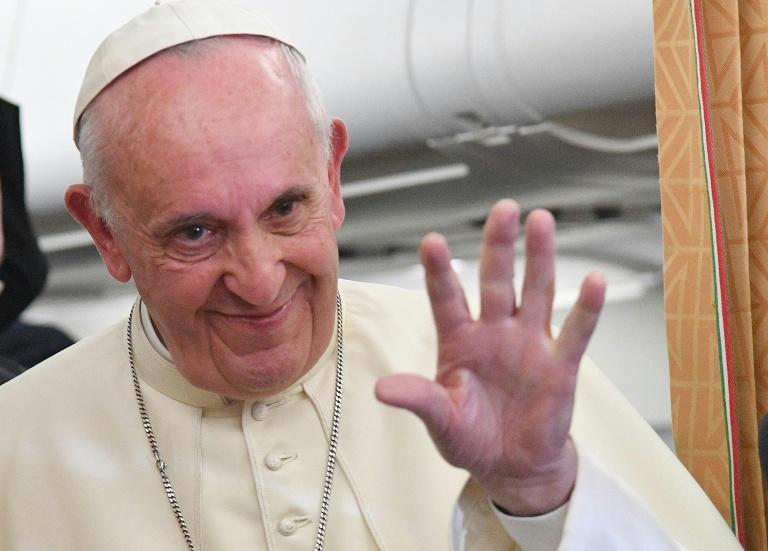 Pope says teaching gender theory is 'indoctrination'
