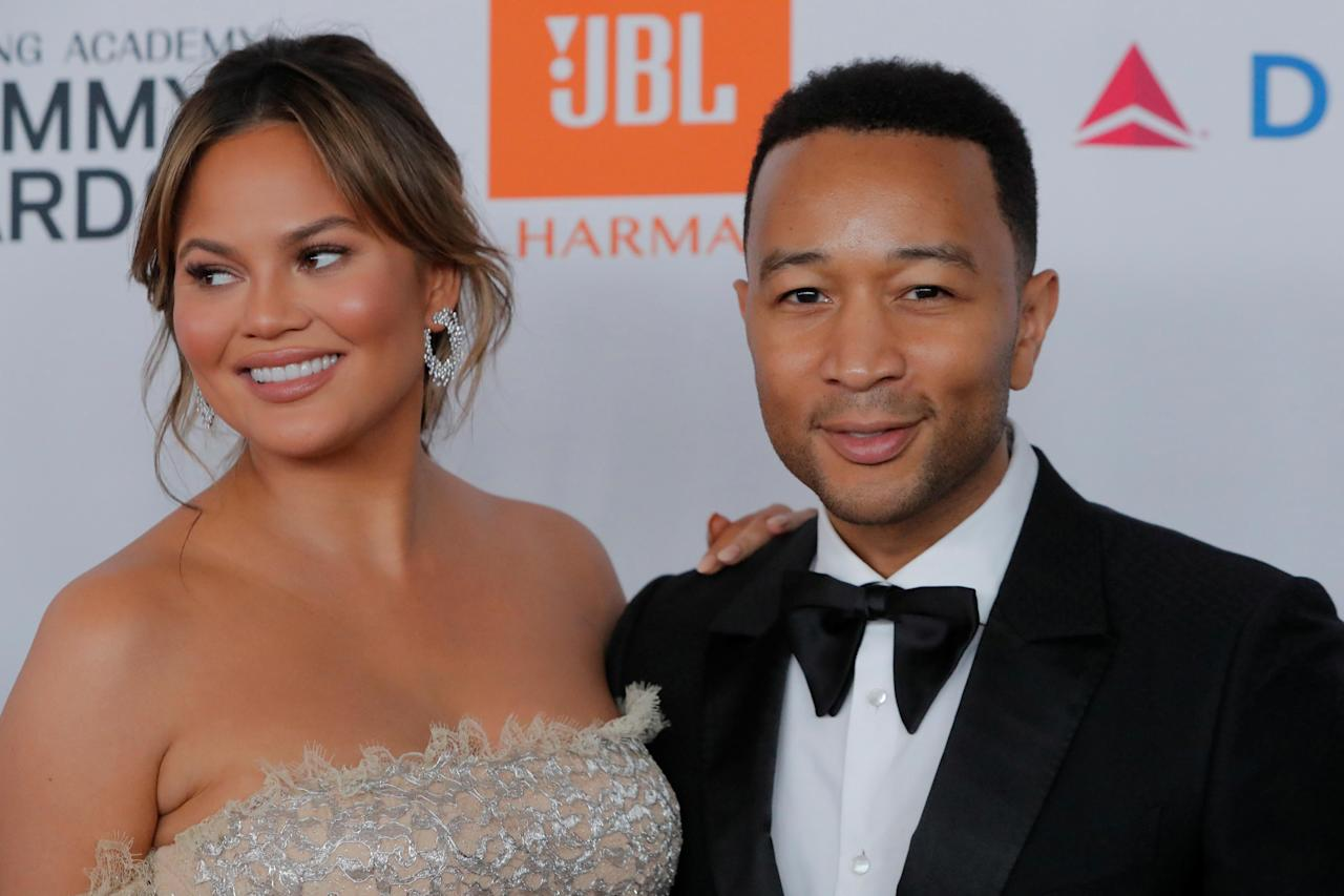 Trump attacks 'boring' John Legend and 'filthy-mouthed' Chrissy Teigen on Twitter