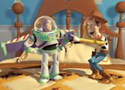 """<a href=""""http://movies.yahoo.com/movie/toy-story/"""" data-ylk=""""slk:TOY STORY"""" class=""""link rapid-noclick-resp"""">TOY STORY</a> (1995) <br>Directed by: <span>John Lasseter</span> <br>Starring: <span>Tom Hanks</span>, <span>Tim Allen</span> and <span>Don Rickles</span>"""