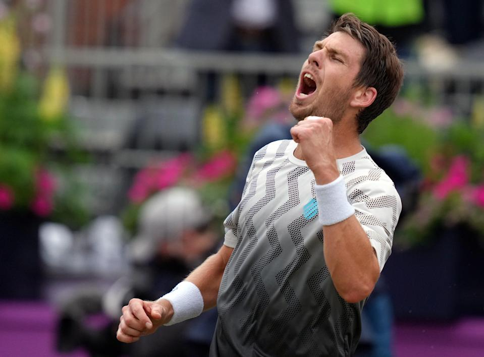 Cameron Norrie is through the the final at Queen's Club (PA Wire)