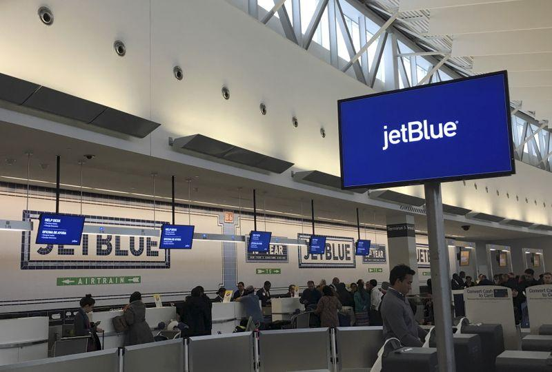 JetBlue to fly about 50% of July schedule, more in August: CNBC interview