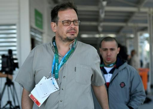 The German government protested to Moscow over its football world cup ban on journalist Hajo Seppelt who caused uproar by his revelations of massive state-sponsored sports doping in Russia